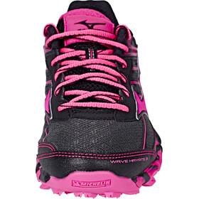 Mizuno Wave Hayate 3 Shoes Women Dark Shadow/Pink Glo/Black